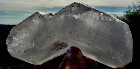 faden in cubic quartz
