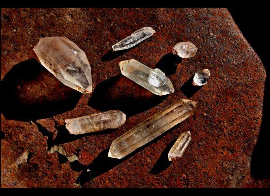 california quartz, Jaybird quarry
